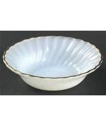 """Vintage Anchor Hocking White Swirl 7 3/4"""" Cereal Soup Salad Bowl 22k Gol... - $9.89"""