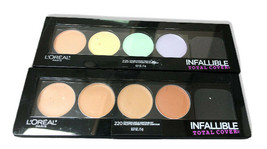 Loreal Infallible Total Cover Conceal 220 OR Color Correct 225 Choose Shade - $9.99