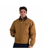 Dickies Men's Classic Brown Duck Coat with Blanket Lining in Sizes M-L-X... - $79.88
