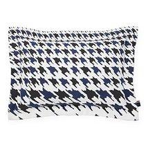 Tommy Hilfiger Hampshire Decorative Pillow, Blue/Black - $35.00