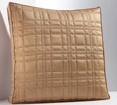 "Simply Vera Wang Euro Pillow Sham Size: 26 X 26"" New Modern Tape/ Gold Ship Free - $59.99"