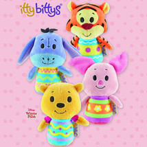 Hallmark itty Bitty bittys Easter Winnie the Pooh, Tigger, Piglet & Eeyo... - £29.68 GBP