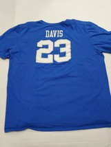 University Of Kentucky Wildcats Anthony Davis Basketball Blue Nike T-Shi... - $19.79