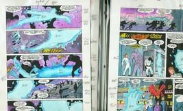 Team Titans #22-DC Color Guides Production Art - $272.81