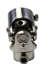 """Forged Stainless Steel Yokes Steering Shaft U-Joint 9/16"""" 26 Spline To 1"""" DD image 5"""