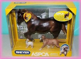 Breyer    Benefit Set  ASPCA  Cody, Dog & Cat Included   NRFB  NEW - $79.99