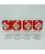 Tabasco Red Eye Bloody Mary Drink Glass Set of 4 - $18.66