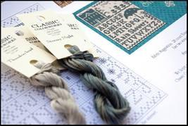 Rain Showers 2 FLOSS + FREE CHART Classic Colorworks Little House Needle... - $4.30