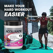 New! Fruit Punch  ACCELERADE The Protein-Powered Sports Drink 2.06lbs. NEW - $26.99