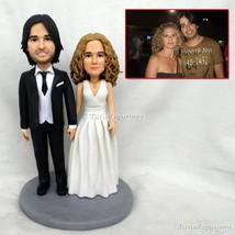 handmade clay figurines wedding cake topper toys Anime Figure Wedding Gi... - $148.00