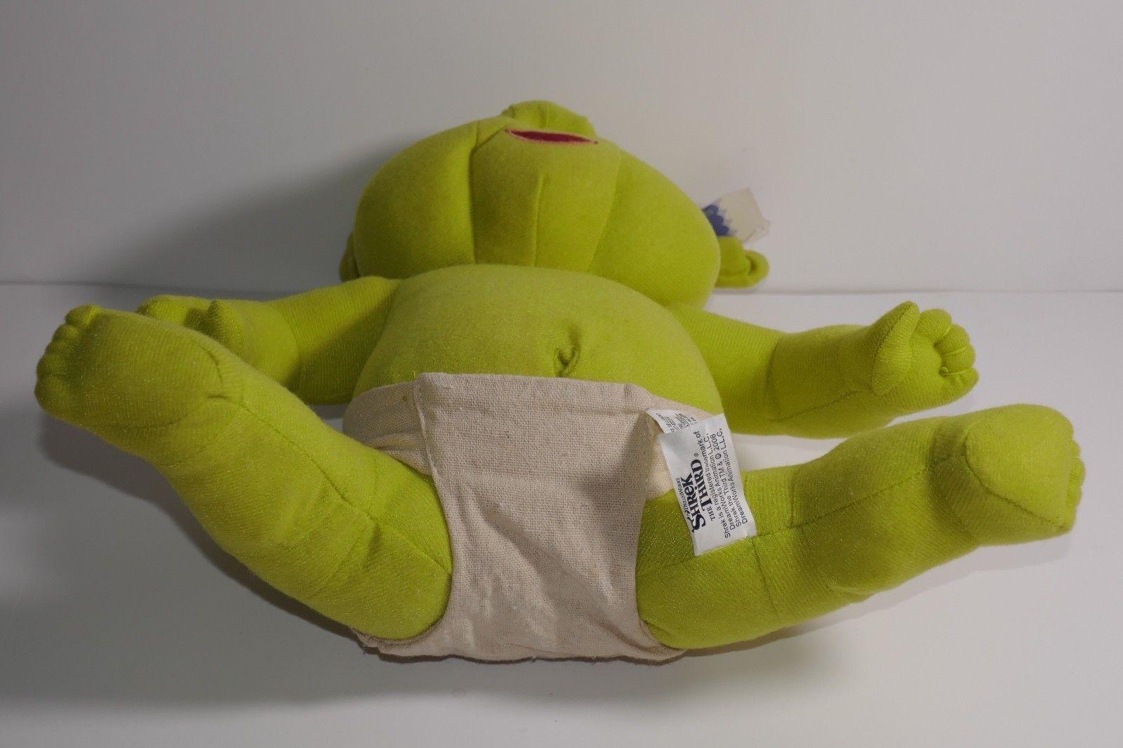 "Nanco 2006 Dreamworks Shrek the Third Ogre Baby 11"" Plush Stuffed Toy w/Tags"