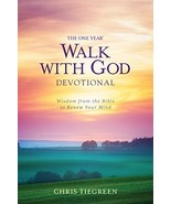 The one year Walk with God Devotion [Paperback Bunko] Chris Tiegreen - $7.91
