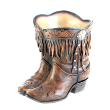 Fringed Cowboy Boot Planter - ₨2,235.60 INR