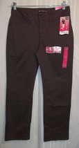 """LEE Jeans Women's Size 6 Short NEW Brown 30 X 30"""" Instantly Slims Straig... - $14.99"""