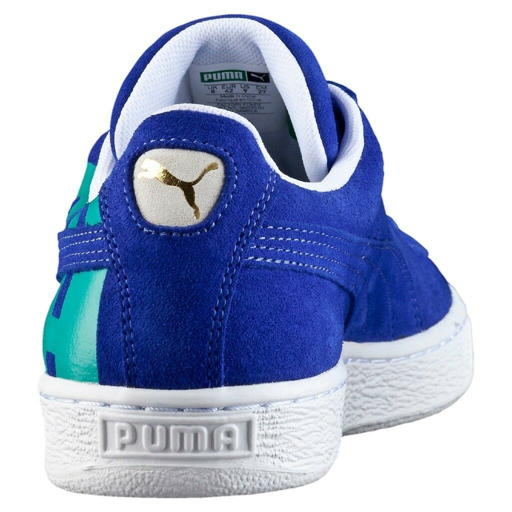 Puma Suede Classic Royal Blue Turg Big Logo 360195-03 Suede Casual Men
