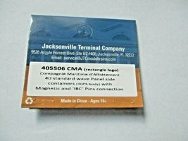 Jacksonville Terminal Company # 405506 CMA (rectangle logo) 40'  Container (N) image 4