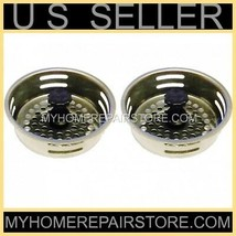 2 / $ 9 - FREE S&H! STAINLESS STEEL KITCHEN SINK DRAIN STRAINER BASKET &... - $8.91