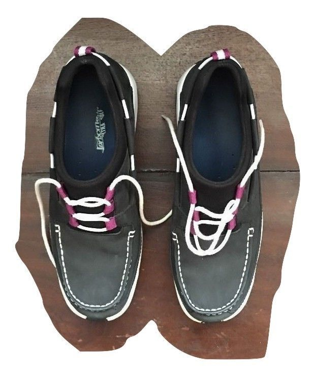 5cfb7a18b6e S l1600. S l1600. Previous. Cole Haan Nike Air Dock loafers flats womens  sneakers shoes sz 6B black leather