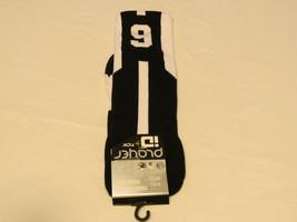 Player Id Von TCK Pcn LG # 9 Twi 1 Socke Schwarz Weiß Volleyball Kniesch... - $10.68
