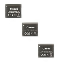 3X Canon Genuine NB-11L Batteries for ELPH 130, ELPH 320, ELPH 180, ELPH... - $39.59