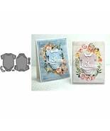 Scrapbooking Card Making DIY Embossing Cuts New Craft Flower Element Dec... - $3.52