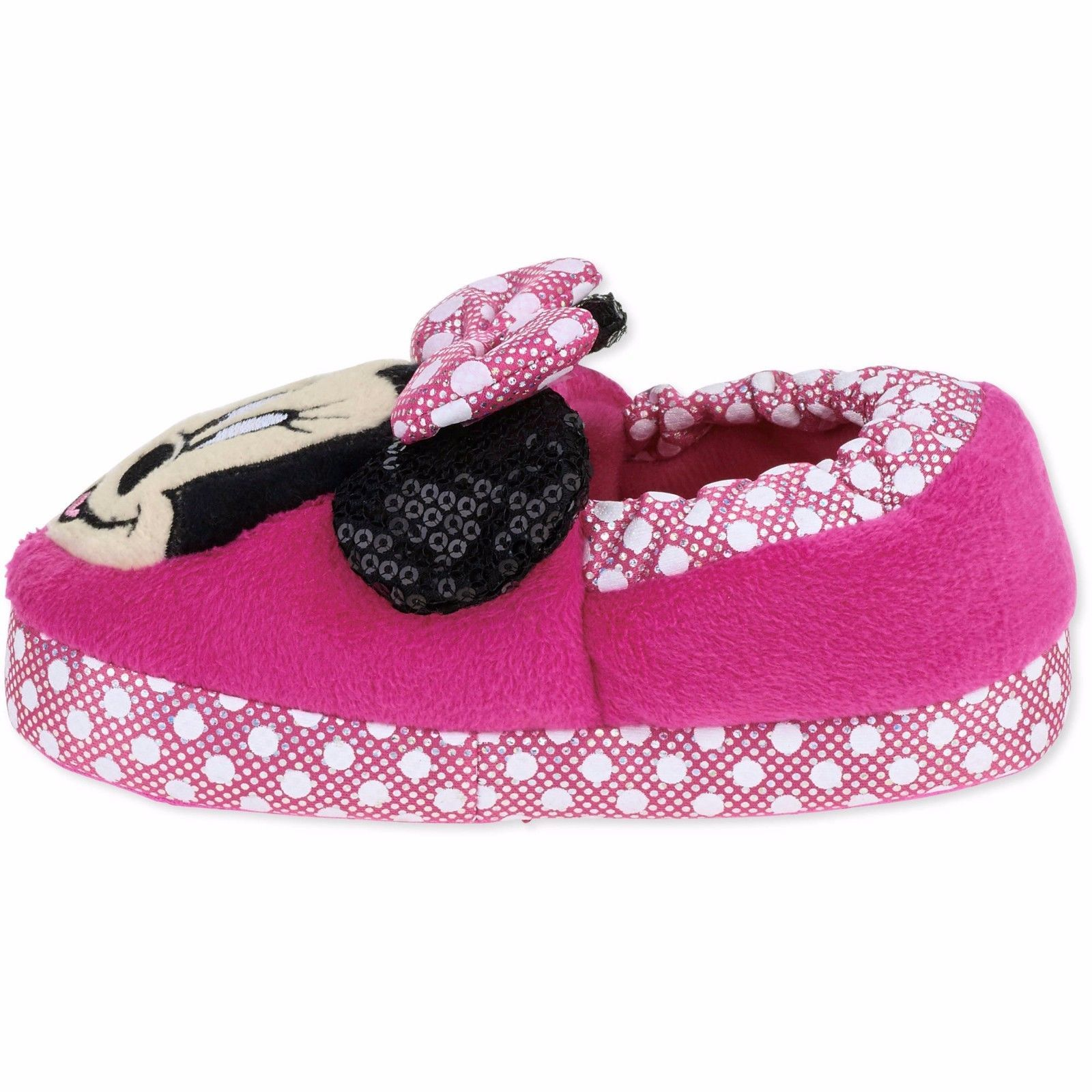 NEW Disney Junior Minnie Mouse Toddler Child Slippers 11/12