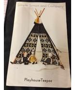 2015 Simple Simon Sewing Pattern Playhouse Teepee Uncut - $5.45