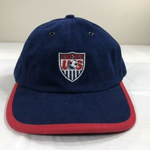 VTG Nike Hat Team USA Strapback Cap Soccer Olympics Swoosh Air Flight OG - $25.00