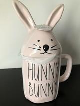 """Rae Dunn Artisan Collection by Magenta """"Hunny Bunny Mug with Bunny Top-Pink - $34.95"""