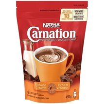 Nestle Carnation Hot Chocolate 6 bags 450g each 18 servings per Canadian - $69.99