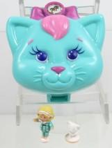 1993 Polly Pocket Vintage Lot  Cuddly Kitty Bluebird Toys - $40.00