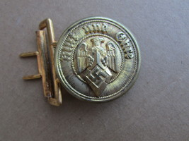 X-rare WWII German YOUTH LEADER HJ Belt Buckle,Mint! RZM M 4/116 - $370.00
