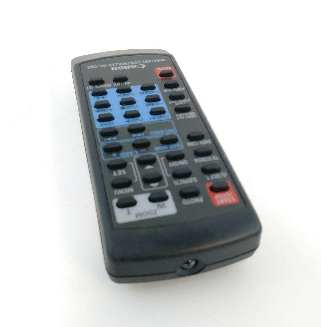 Canon Remote Controller WL D83 OEM Wireless Optura 400 Elura 60  65  70  - $5.00