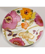 "Lenox Pink Floral Fushion 9"" Plate by Stephanie Ryan - $13.06"