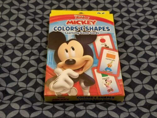 Disney Junior Mickey Learning Game Card Set