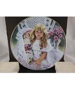 Anna Collector's Plate from the Heirlooms and Lace Collection by Corinne... - $29.69