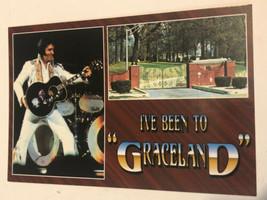 Elvis Presley Postcard Elvis I've Been To Graceland - $3.46