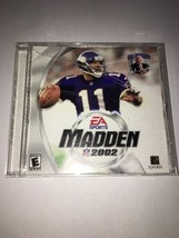 B-0822L Madden NFL PC CD-ROM EA Sports Electronic Arts 2002 for Win 98/M... - $10.45