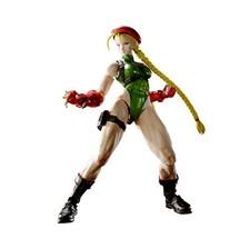 S.H.Figurines Street Fighter Cammy Action Figurine Bandai Neuf de Japon F/S - $86.26