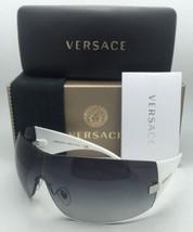 958c5e6a53 Nuovo Versace Occhiali da Sole Ve 2054 1000/8g 115 Canna di Fucile &