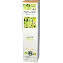 Andalou Naturals Eye Serum Luminous, 0.6 Ounce