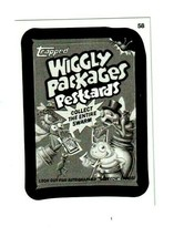 """2015 Wacky Packages Series 1 Pencil Art Card """"Wiggly Packages Pestcards"""" #58 - $3.99"""