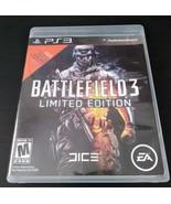 Battlefield 3 -- Limited Edition (Sony PlayStation 3, 2011) - $4.99