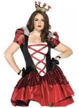 Leg Avenue Women's Plus 2pc. Plus Size Royal Red Queen,, Black/Red, Size 3x-4x - $37.74