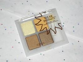 L'oreal Wear Infinite Eyeshadow Quad in Sizzling Safari - Sealed - $12.50
