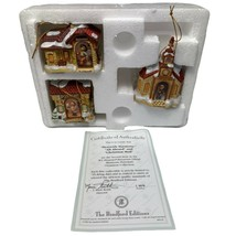 3 Bradford Hummel Illuminated Hanging Ornaments  68212 Harmony All Aboar... - £22.41 GBP