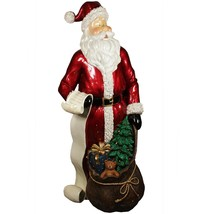 "Christmas Central 48"" Santa Claus  List and Gift Sack Christmas Display ... - $597.70"