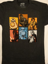 Star Wars The Force Awakens Kylo Chewy Stormtrooper BB8 Boxed Battalion T-Shirt - $10.00+