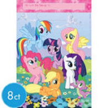 My Little Pony Friendship Party 8 Loot Favor Bags - $3.41
