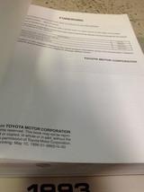 2000 Toyota Sienna Van Service Shop Repair Workshop Manual Factory Oem - $188.05